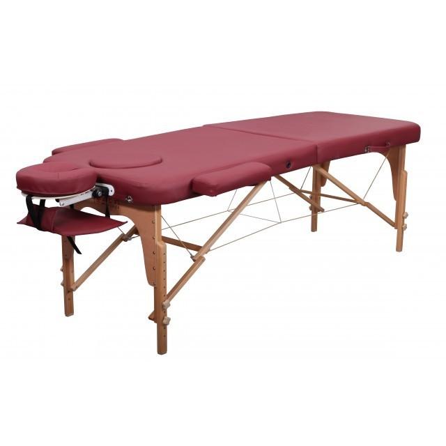 Table valise pliante avec trou visage promo mat riel for Table valise 6 places